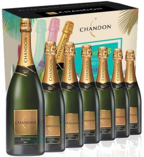 COMBO 6 ESPUMANTES CHANDON 750ml + 1 MAGNUM 1,5L