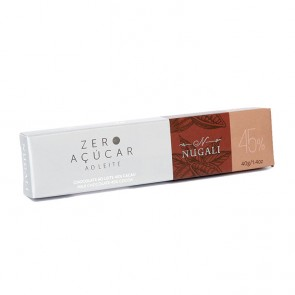 CHOCOLATE NUGALI ZERO TABLETE 40g