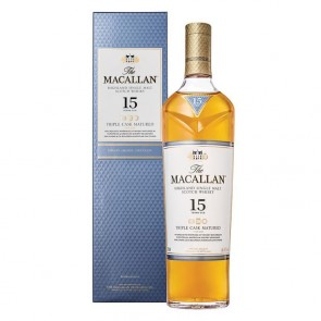 WHISKY MACALLAN TRIPLE CASK MATURED 15 ANOS 700ml
