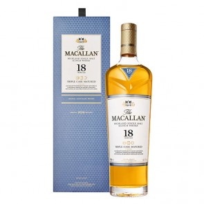 WHISKY MACALLAN TRIPLE CASK MATURED 18 ANOS 700ml
