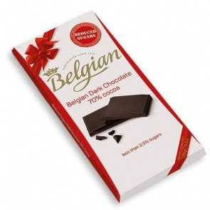 CHOCOLATE BELGIAN DARK 70% 100g