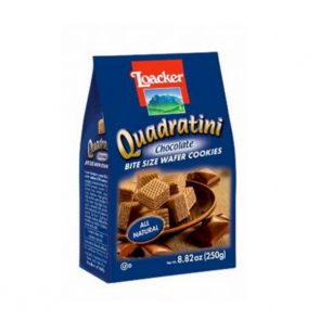 BISCOITO LOACKER QUADRATINI CHOCOLATE