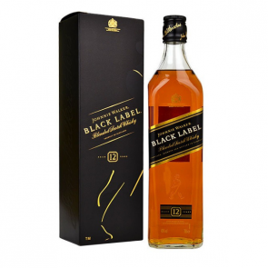 WHISKY BLACK LABEL (JOHNNIE WALKER) 1L